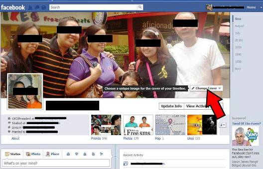 Tip 1 Choose Your Cover Profile 10 Things That You Can Do To Your Profile With Facebook Timeline