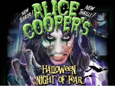 1. Alice Cooper Halloween Night of Fear