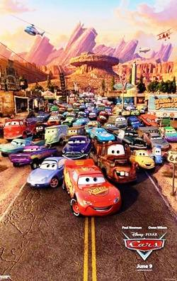 1. Cars Top 10 Best Car Racing Movies of All Time