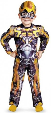 1. Transformers Bumblebee Costume e1318409721435 Top 10 Halloween Costumes for Children