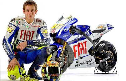 1. Valentino Rossi