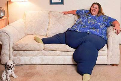 10. Heaviest Living Woman1 10 More Bizarre World Records