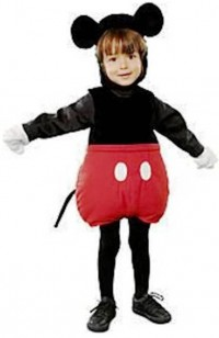 10. Mickey Mouse Costume1 e1318409076278 Top 10 Halloween Costumes for Children