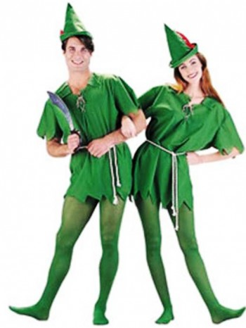 10. Peter Pan and Tinkerbell e1318604816419 Top 10 Best Couples Halloween Costumes For 2011