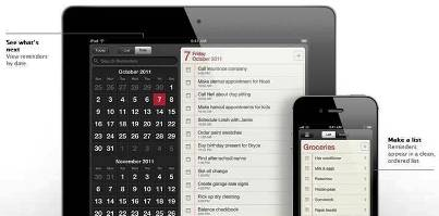 10. Reminders 10 New Features Introduced in Apple iOS 5