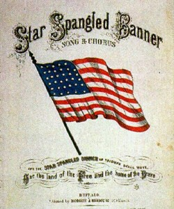 10. Star Spangled Banner e1319707265606 Top 10 Best Songs on Veterans Day