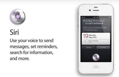 2. An Advanced Voice Recognition Service 10 New Features in Apple iPhone 4S