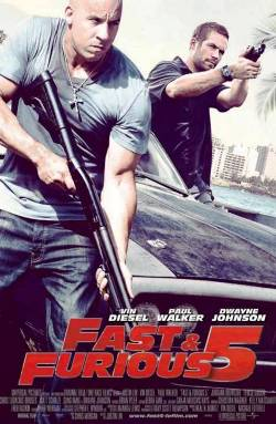 2. Fast Five Top 10 Best Car Racing Movies of All Time