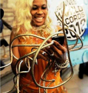 2. Longest Fingernails e1319037697656 Top 10 Guinness World Records In 2011 – 2012