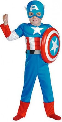 3. Captain America Costume