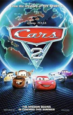 3. Cars 2 Top 10 Best Car Racing Movies of All Time
