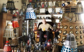 3. Largest Collection of Daleks e1319037635689 Top 10 Guinness World Records In 2011  2012