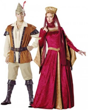 3. Robin Hood and Maid Marian e1318605121548 Top 10 Best Couples Halloween Costumes For 2011