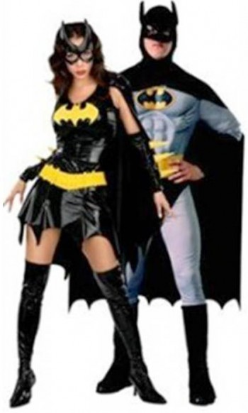 5. Batman and Batgirl e1318605043913 Top 10 Best Couples Halloween Costumes For 2011