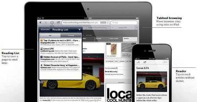5. Safari 10 New Features Introduced in Apple iOS 5