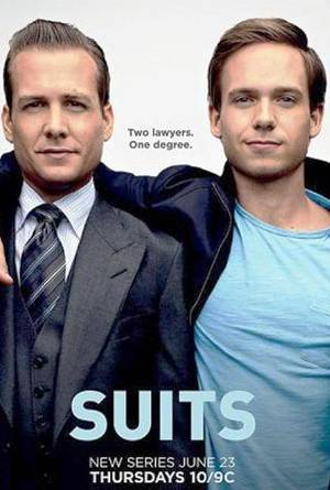 5. Suits Top 10 Best American TV Series in 2011   [Serials]
