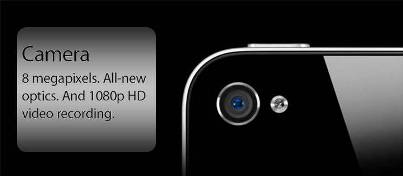 6. Better Performing Camera 10 New Features in Apple iPhone 4S