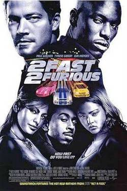 7. 2 Fast 2 Furious
