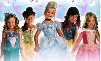 7. Disney Princesses Costumes1 e1318409352282 Top 10 Halloween Costumes for Children