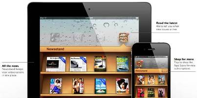 7. Newsstand 10 New Features Introduced in Apple iOS 5