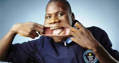 7. Widest Mouth 10 More Bizarre World Records