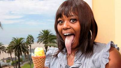 8. Female Longest Tongue 10 More Bizarre World Records