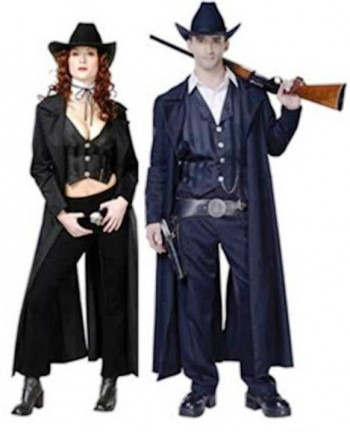 8. Gunslinger e1318604898322 Top 10 Best Couples Halloween Costumes For 2011