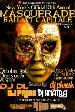 8. Masquerade Ball at Capitale
