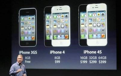 9. Bigger Internal Storage Space 10 New Features in Apple iPhone 4S