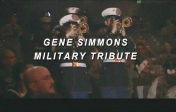 9. Gene Simmons Military Tribute e1319707564925 Top 10 Best Songs on Veterans Day