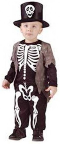 9. Skeleton Costume1 e1318409183675 Top 10 Halloween Costumes for Children