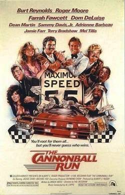 9. The Cannonball Run Top 10 Best Car Racing Movies of All Time
