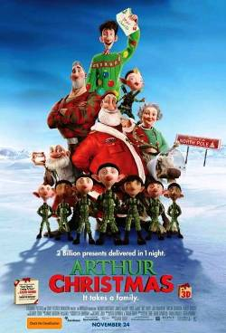 1. Arthur Christmas Top 10 Movies to Watch in 2011 Holidays