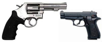 1. Guns Top 10 Most Used Murder Weapons