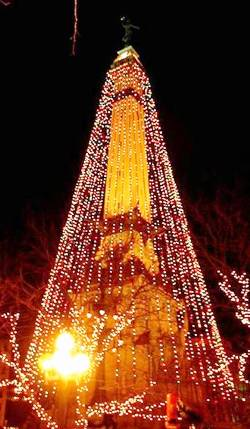 1. Indianapolis Indiana Top 10 Largest Christmas Trees in the US