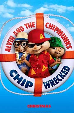 10. Alvin and the Chipmunks Chipwrecked Top 10 Movies Releasing for Christmas 2011
