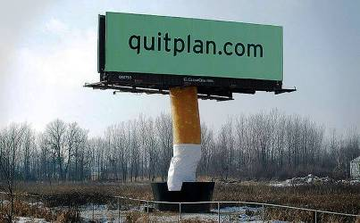 10. Quitplan Services 10 Most Impressive Billboard Advertisements