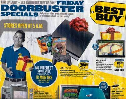 "10. Take Advantage of ""Doorbuster"" Items Top 10 Tips to Getting Best Bargains on Black Friday"