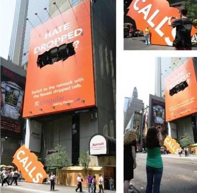 2. Cingular 10 Most Impressive Billboard Advertisements