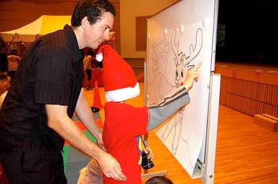 2. Pin the Nose on the Reindeer Top 10 Christmas Party Games for Kids and Adults
