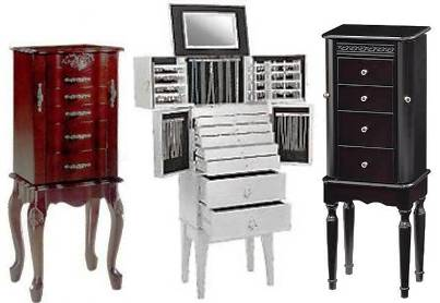 Jewelry Cabinets Beautiful Jewelry Boxes Uamp Armoires Pier