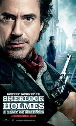 2. Sherlock Holmes A Game of Shadows Top 10 Movies Releasing for Christmas 2011