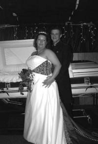 3. Creepy Funeral e1320408960961 Top 10 Weirdest Wedding Venues