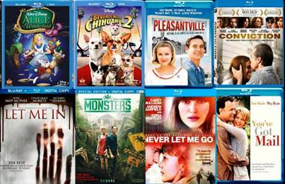 3. DVDs Top 10 Black Friday Gifts