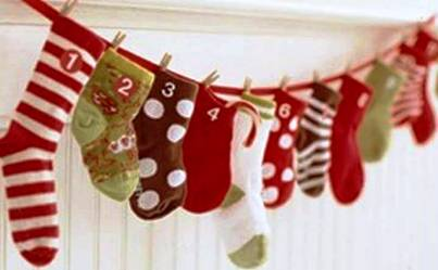 4. Pass the Stocking Top 10 Christmas Party Games for Kids and Adults
