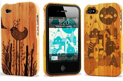 7. Grovemade Bamboo Case Top 10 Best iPhone 4S Covers