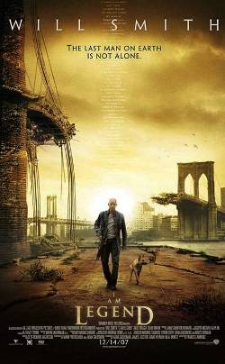 7. I Am Legend 2008 Top 10 Best Sci fi Movies Of The Last Decade