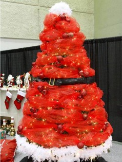 7. Snow Man Tree e1321001039688 Top 10 Christmas Tree Deorating Ideas