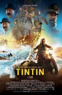 7. The Adventures of Tintin The Secret of the Unicorn Top 10 Movies Releasing for Christmas 2011