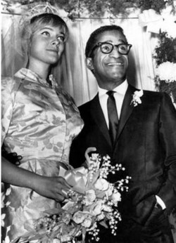 7. The Unforbidden Love of May Britt and Sammy Davis Jr. 1960 e1320394533121 Top 10 Interracial Marriages